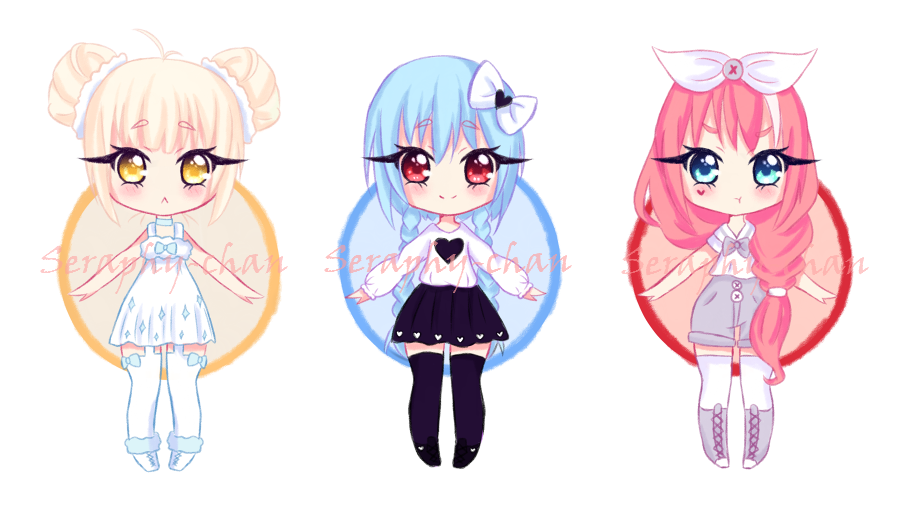 [Auction] Random adoptables 1 ~Closed~ by Seraphy-chan on ...