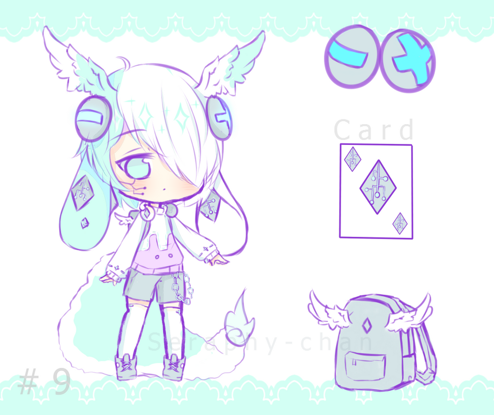 [CLOSED] Yanny Adoptable #9 by Seraphy-chan on DeviantArt