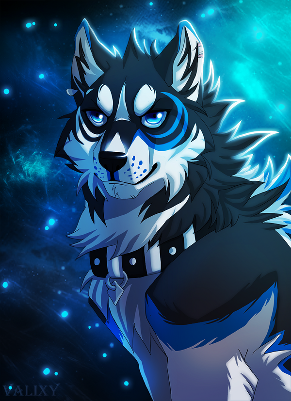 Art Trade: Blue Matter by Valixy