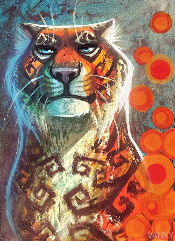 Tiger Tiger by Valixy