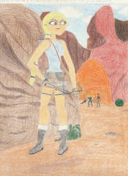 Tati as Lara Croft 2.0 by Paleo-Beast-Emperor