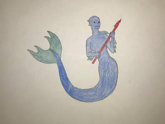 Primordia mermaid by Paleo-Beast-Emperor