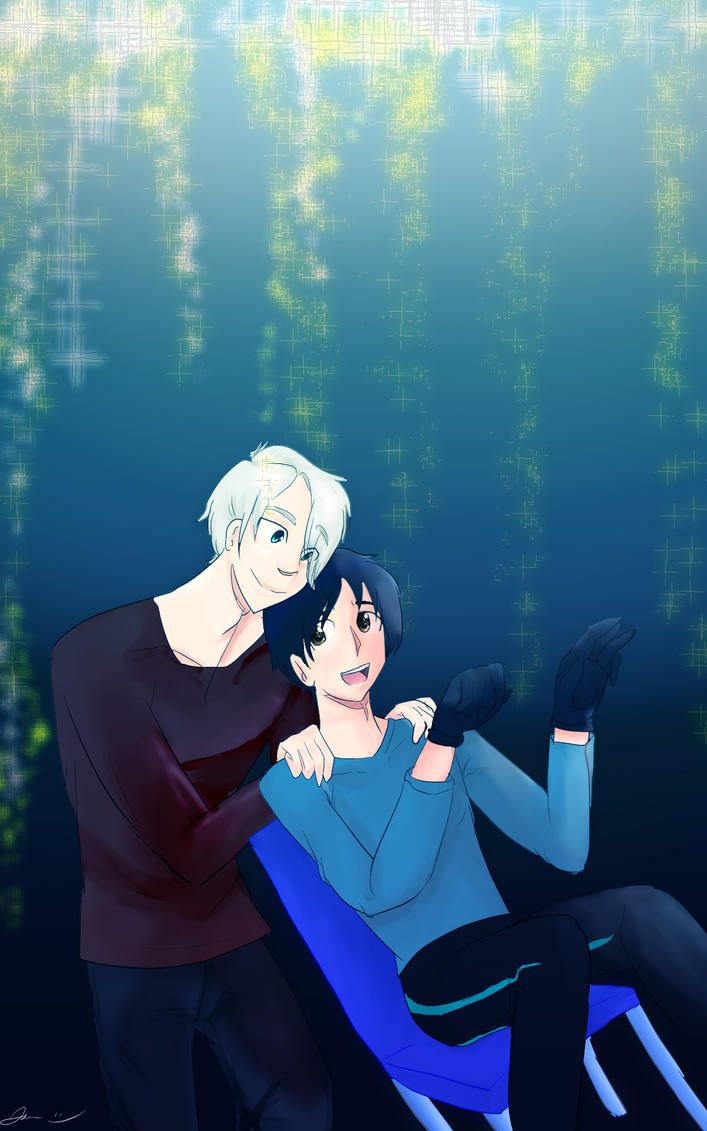 Yuri On Ice by MoonFairyDraws