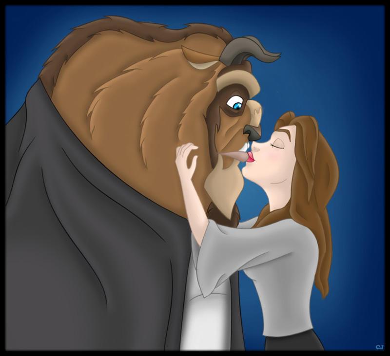 The Cutest Kiss Of Them All By CartoonJessie
