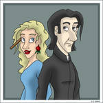 Snape and Luna - An Odd Couple