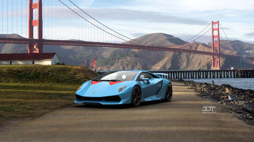 Thunder Clash S Lamborghini Sesto Elemento By Ngkq On Deviantart