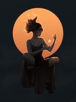 Witch Illustration 22.09.2020 by yyno0
