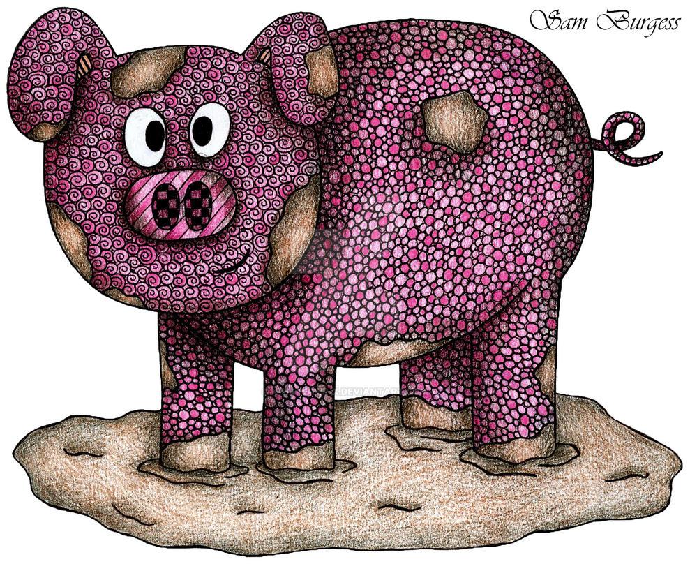 Patrick Pig by x-hamster-x