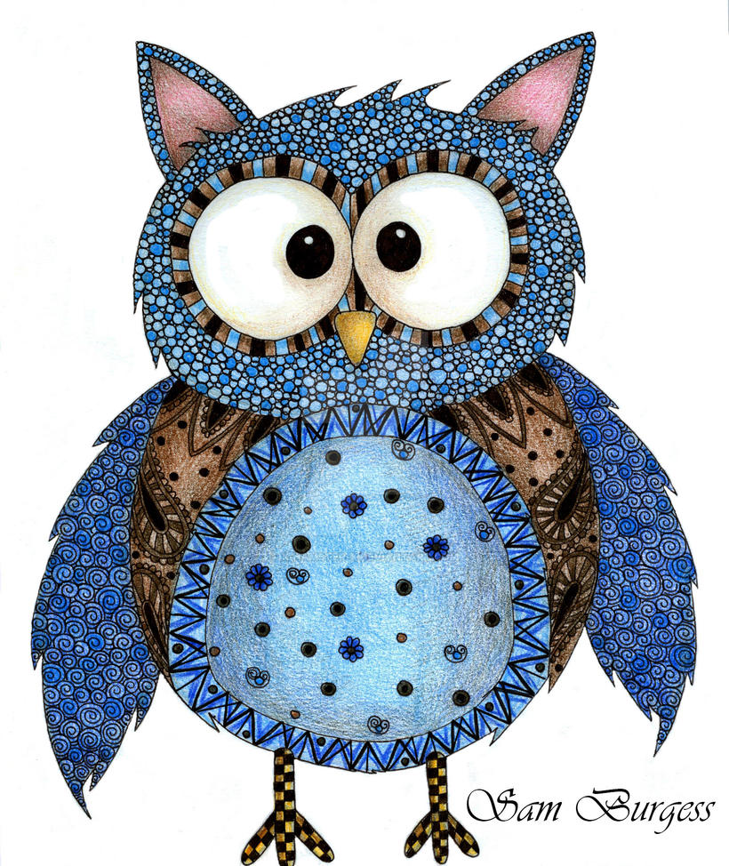 Oliver Owl by x-hamster-x