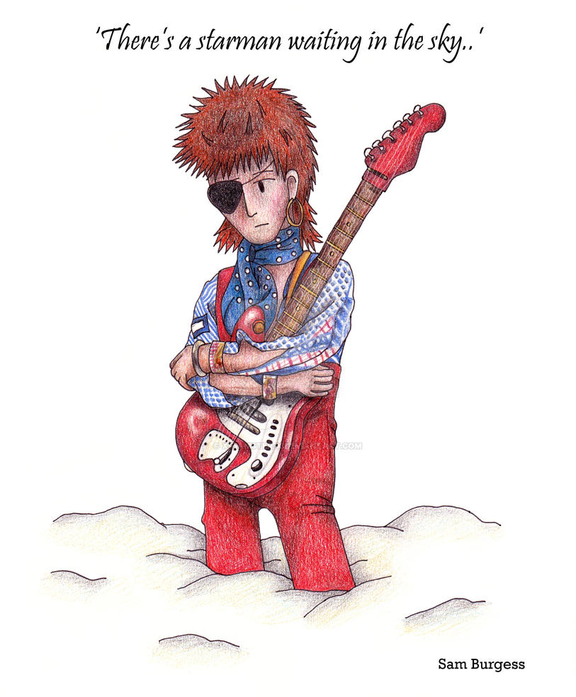 David Bowie Starman by x-hamster-x