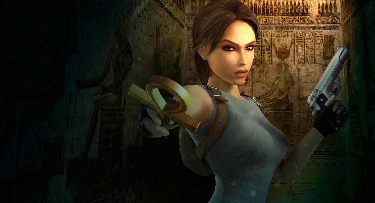 Tomb Raider Anniversary Egypt By MaximCrain