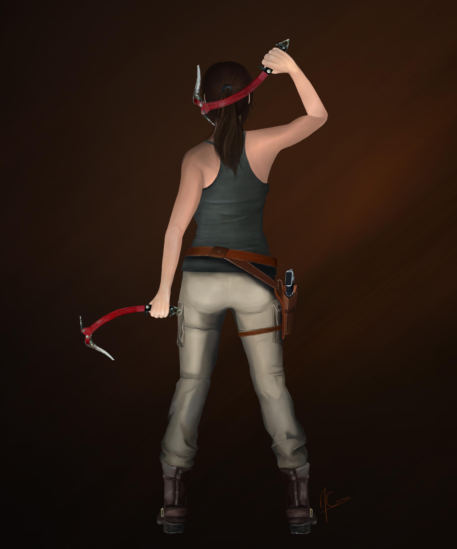 Wallpaper Lara Croft Shadow Of The Tomb Raider Concept: Rise Of The Tomb Raider : Lara Croft By MaximCrain On