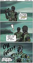 Peace Walker Comic - Training