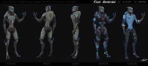 Kaso Generaka Ref Sheet [COMM] by JesterDK