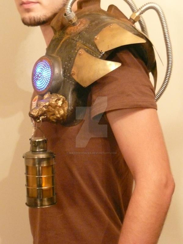 Steampunk Shoulder Piece by MatthewSilva