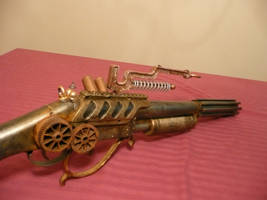 Steampunk Lightning Rifle 2 by MatthewSilva