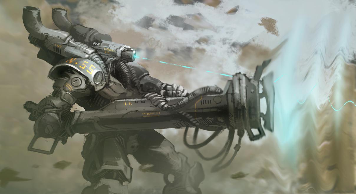 RUMBUM GUN by PeterCsanyi