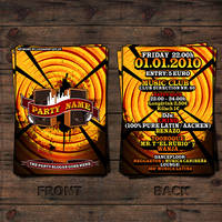Latin Party Advertising Flyer by luchAdor-GFX