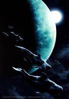 Aquatic Space 1 by Crynyd