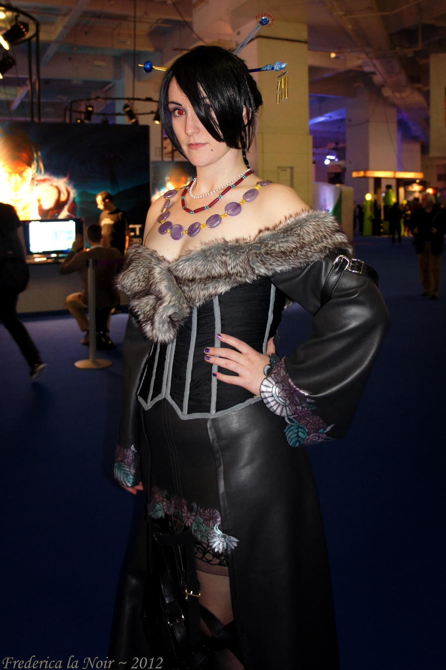 FFX Lulu at Eurogamer Expo 2012 by Frederica-La-Noir