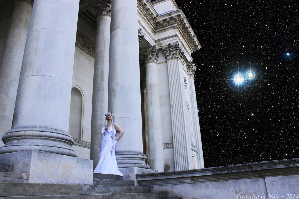 Queen Serenity in the Moon Kingdom by Frederica-La-Noir