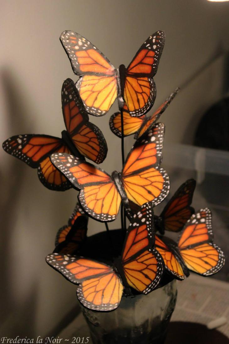 Effie Trinket's Butterfly Hair Fascinator by Frederica-La-Noir