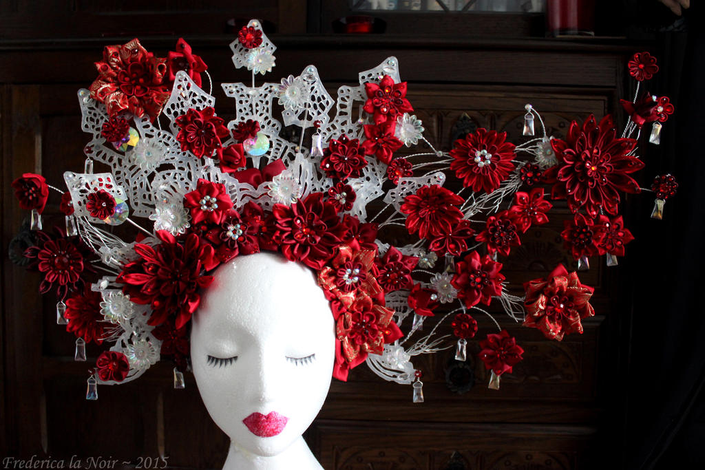Jupiter Ascending Headdress Completed by Frederica-La-Noir
