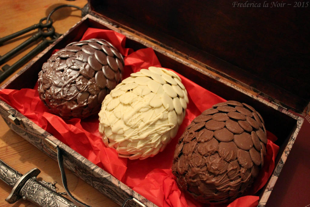 Chocolate Dragons Eggs by Frederica-La-Noir