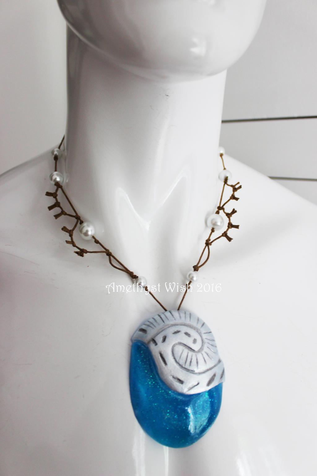 Polynesian Princess Moana Cosplay Necklace By Frederica