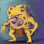 Spongebob of the Caves