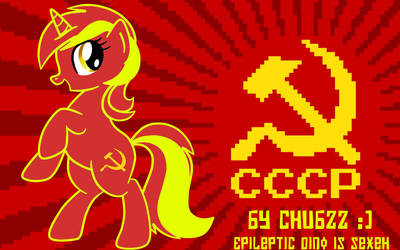 MLP:FIM Soviet Lyra Pixel Art - For Epileptic Dino by kmanderson62