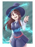 Akko the Witch by ManyaLenI