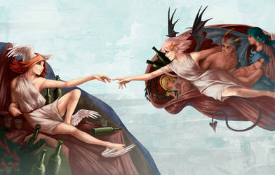 The Creation of the Siren by ManyaLenI