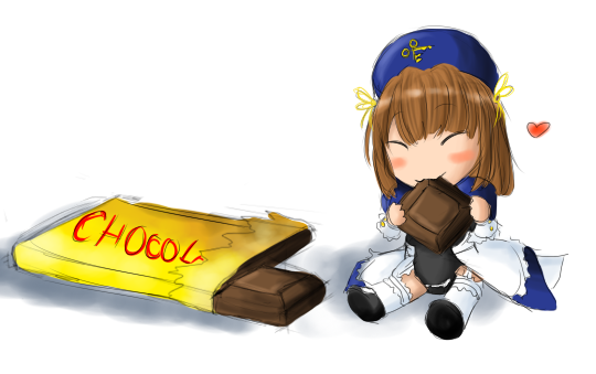 chocolate helicopter by Staris-Chan