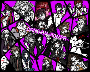 Dangan Ronpa by Staris-Chan