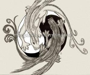 Yin and Jang by Arahiriel