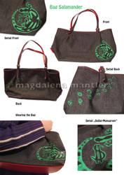 Salamander Bag by Arahiriel