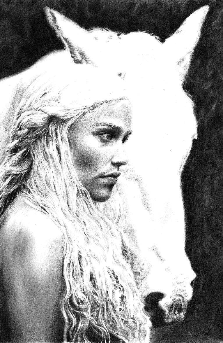 Daenerys by Saxon-wolf23