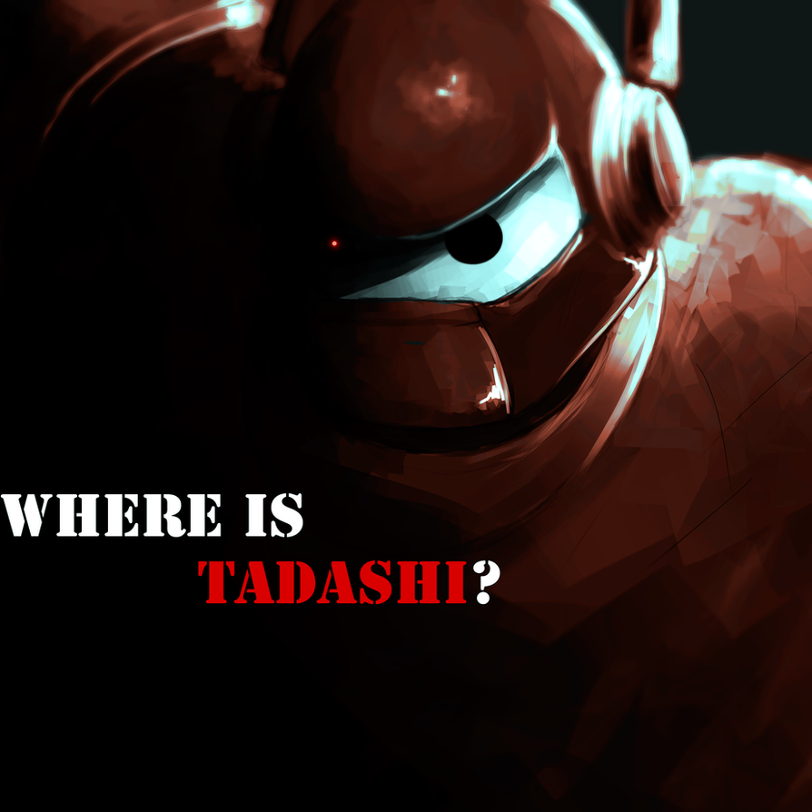 Sad robot by Pe-crowd