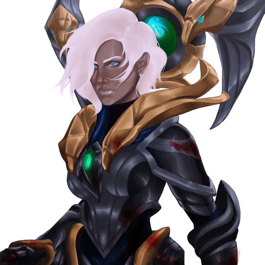 Warden Karma (Unmasked) by shawbrando