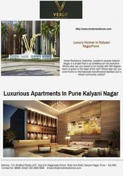 Book Apartments in Kalyani Nagar Pune