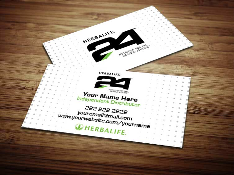 Gallery For Order Herbalife Business Cards