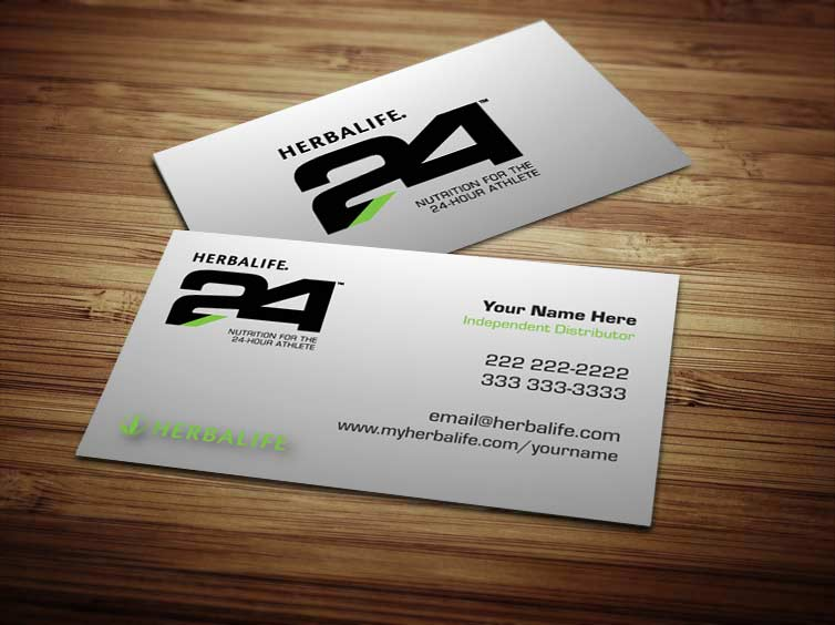 Templates for Herbalife 24 Business Cards by Tankprints on DeviantArt