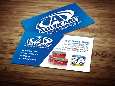 Advocare Business Card Template by Tankprints on DeviantArt