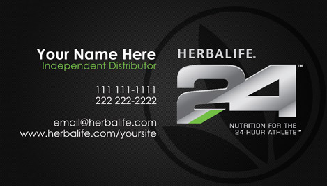 Herbalife 24 Business Cards by Tankprints on DeviantArt