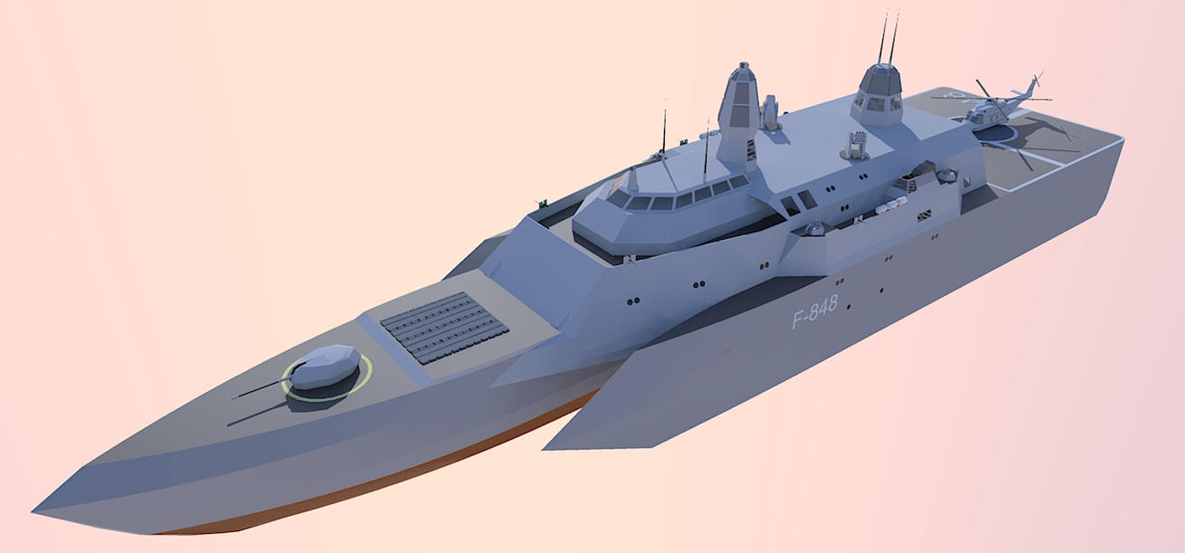 Virisian Arsenal & Armed Forces Littoral_combat_ship1_by_kaasjager-d3gua07