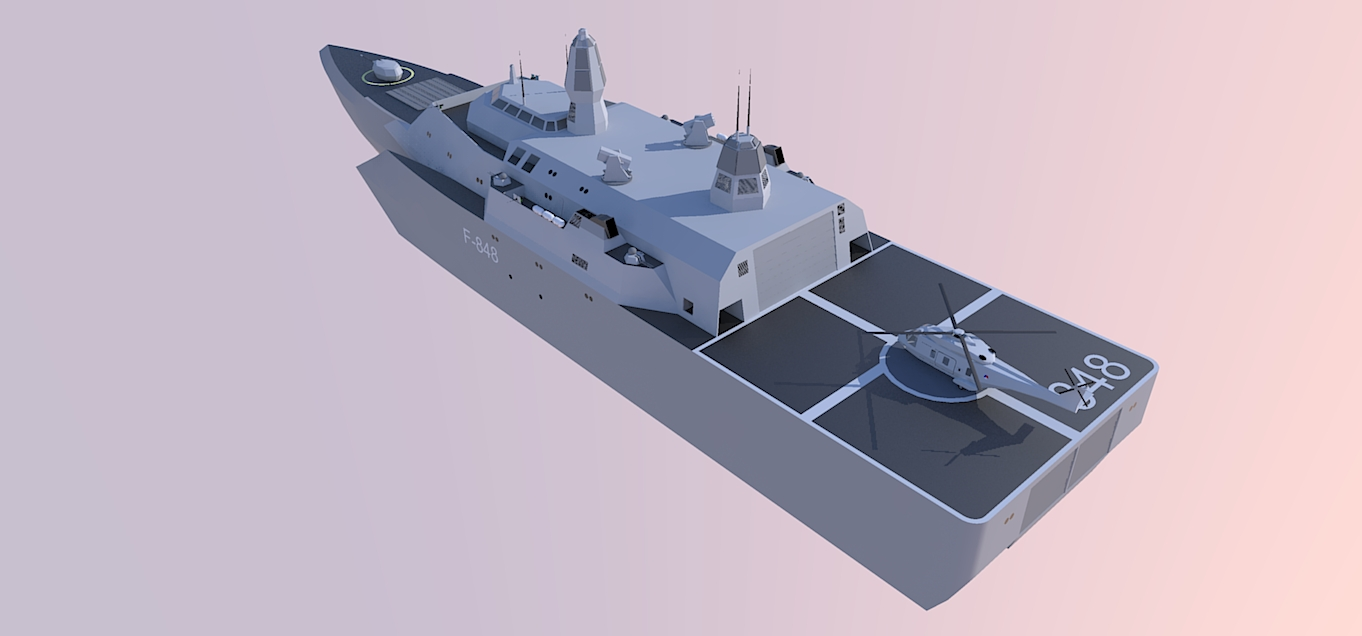 Littoral Combat Ship2 by kaasjager