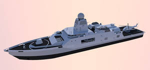 OPV Multi Mission Light Frigate.