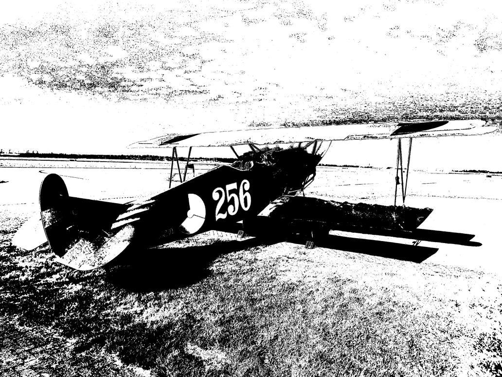 Fokker D.VII by kaasjager