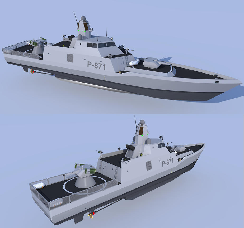 Abel Tasman class Multimission cutter by kaasjager